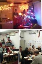 クリスマスイブ礼拝後のケーキタイム