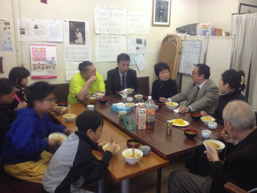親子丼2013年12月29日