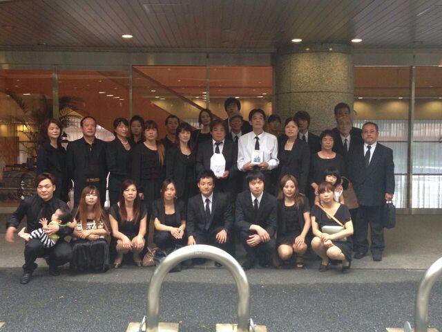 松田兄葬儀
